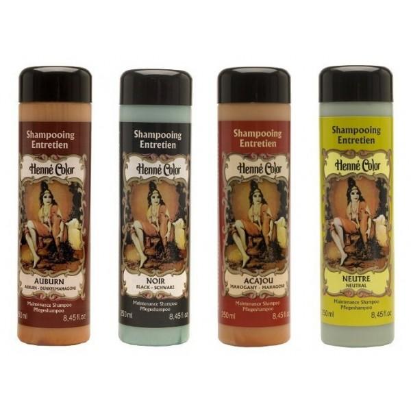 HENNE COLOR Shampooing entretien pour coloration Henné 250ml