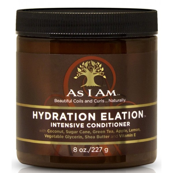 AS I AM Masque hydratant intense HYDRATION ELATION 227g