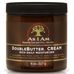 AS I AM Crème hydratante DOUBLEBUTTER CREAM 227g