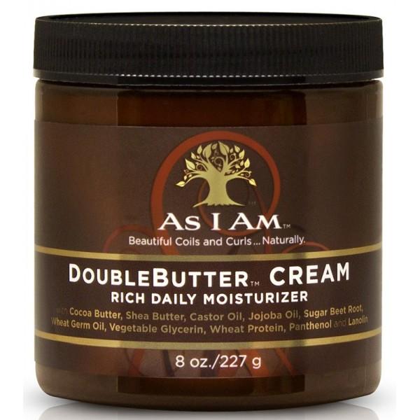 AS I AM Crème hydratante DOUBLEBUTTER CREAM 227g
