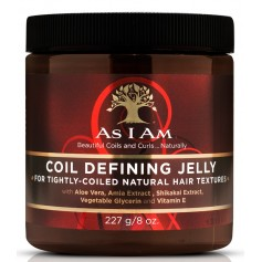 AS I AM Gelée définition frisettes ALOE VERA AMLA 227g (COIL DEFINING JELLY)