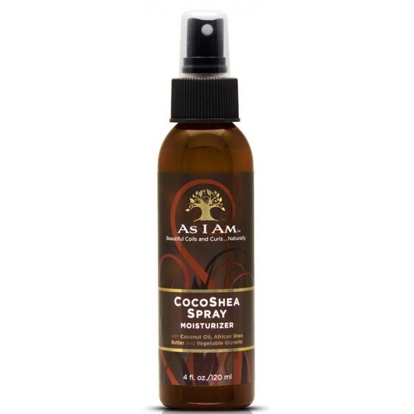 AS I AM Spray hydratant Coco & Karité cheveux bouclés COCOSHEA SPRAY 120ml
