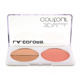 L.A COLORS Palette 3D BLUSH CONTOUR 8g