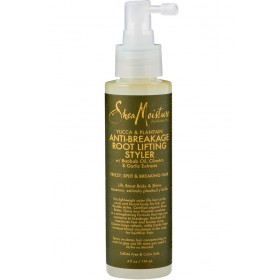 SHEA MOISTURE Spray anti-casse YUCCA PLANTAIN & BAOBAB 119ml (Anti-breakage Root Lifting Styler)