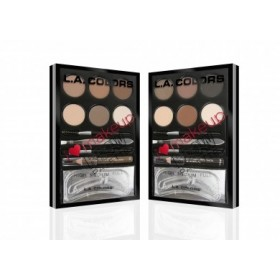 L.A COLORS Kit pour sourcils BROW PALETTE