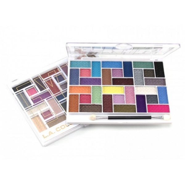 L.A COLORS Palette fard à paupières 30 COLORS EYESHADOW PALETTE
