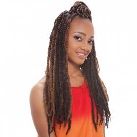 NOIR natte AFRO TWIST BRAID (ex Marley Braid)