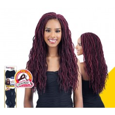 "FREETRESS natte WAVY SENEGALESE TWIST 18"" (Loop)"