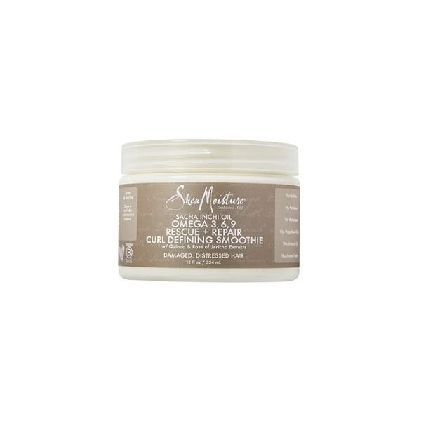 SHEA MOISTURE Crème définition boucles SACHA INCHI 354ml (Smoothie)