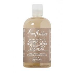 SHEA MOISTURE Shampoing clarifiant SACHA INCHI 384ml