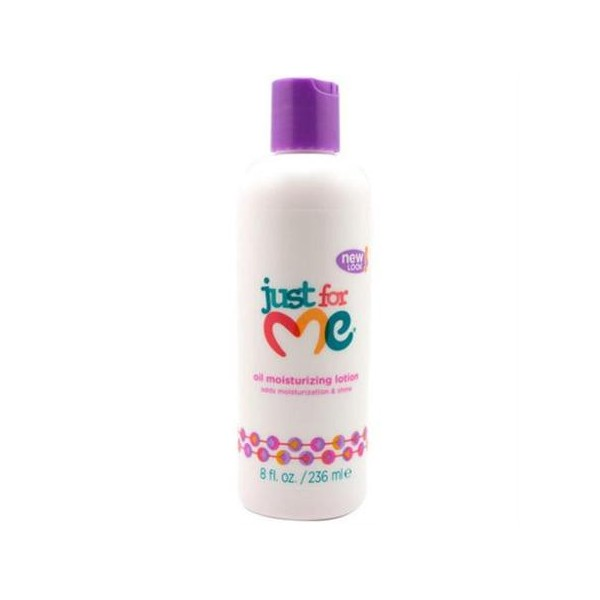 JUST FOR ME Lotion capillaire hydratante pour enfants 236ml (Oil Moisturizing lotion)
