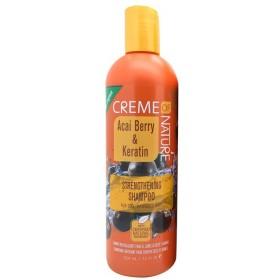 CREME OF NATURE Strengthening Shampoo BAY D'ACAI & KERATIN 354ml