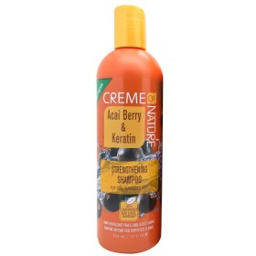 CREME OF NATURE Shampoing fortifiant BAIE D'ACAI & KERATINE 354ml