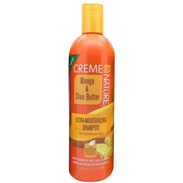 CREME OF NATURE Shampoing hydratant MANGUE & KARITE 354ml