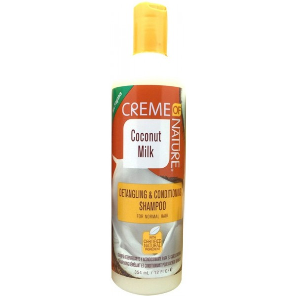 CREME OF NATURE Shampoing démêlant COCO 354 ml