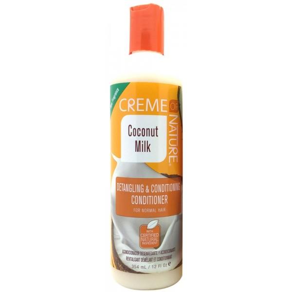 CREME OF NATURE Après-shampoing démêlant COCO 354ml