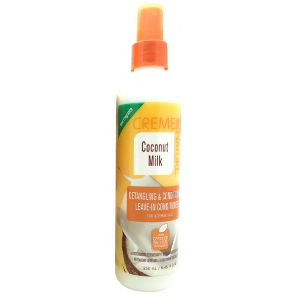 CREME OF NATURE Leave-in démêlant COCO 250ml (Detangling & Conditioning)