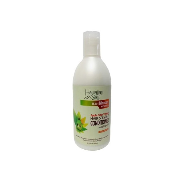 HAWAIIAN SILKY Après-shampoing 14-in-1 MIRACLES 355ml (Hair So Soft Conditioner)