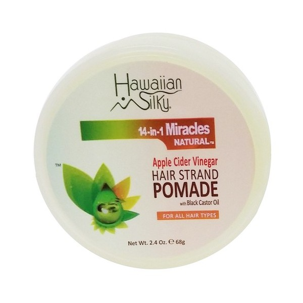 HAWAIIAN SILKY Pommade capillaire 14-in-1 MIRACLES 68g (Hair Stand Pomade)