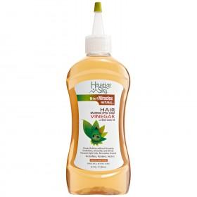 HAWAIIAN SILKY Huiles VINAIGRE DE POMME & RICIN NOIR 238ml (Hair Balanced Apple Cider Vinegar)
