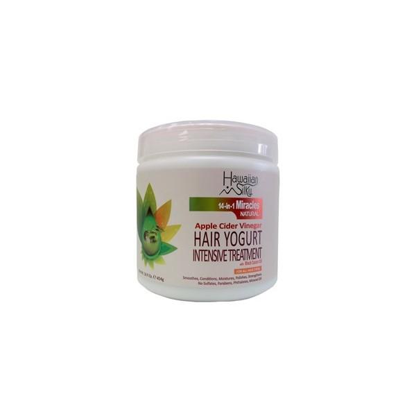 HAWAIIAN SILKY Masque traitement intensif 14-in-1 MIRACLES 454g (Hair Yogurt)