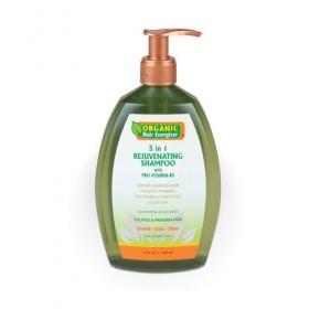 ORGANIC HAIR ENERGIZER Shampoing rajeunissant 5 en 1 385 ml (5 in 1 Rejuvenating Shampoo)