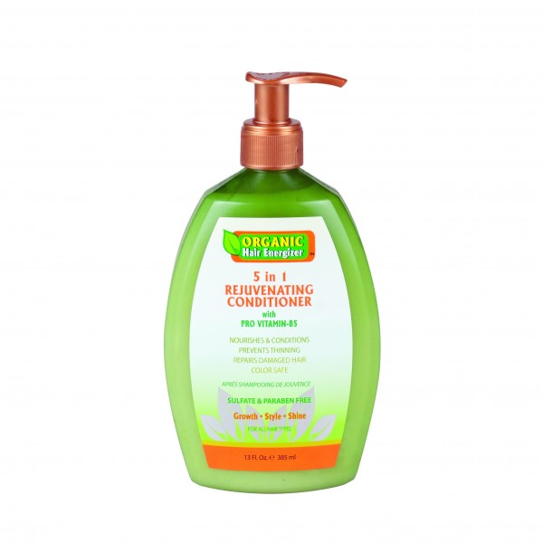 ORGANIC HAIR ENERGIZER Après-shampoing 5 en 1 rajeunissant 385ml (5 in 1 rejuvenating conditioner)