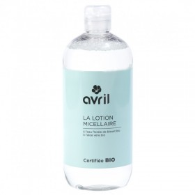 AVRIL Lotion micellaire ALOE VERA & BLEUET BIO 500ml