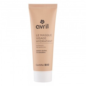 AVRIL Masque visage hydratant KARITE BIO 50ml
