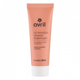 AVRIL Masque visage purifiant ARGILES BIO 50ml