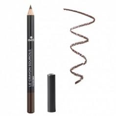 Organic eyebrow pencil