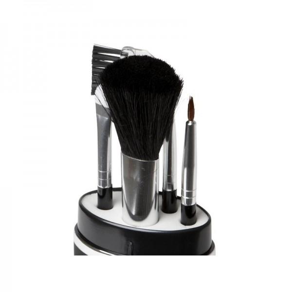 Set de pinceaux à maquillage pour voyage