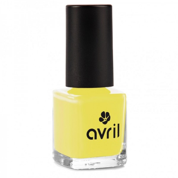 AVRIL Vernis à ongles JAUNE JONCQUILLE 7ml
