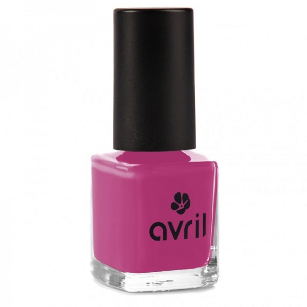 AVRIL Vernis à ongles POURPE 7ml