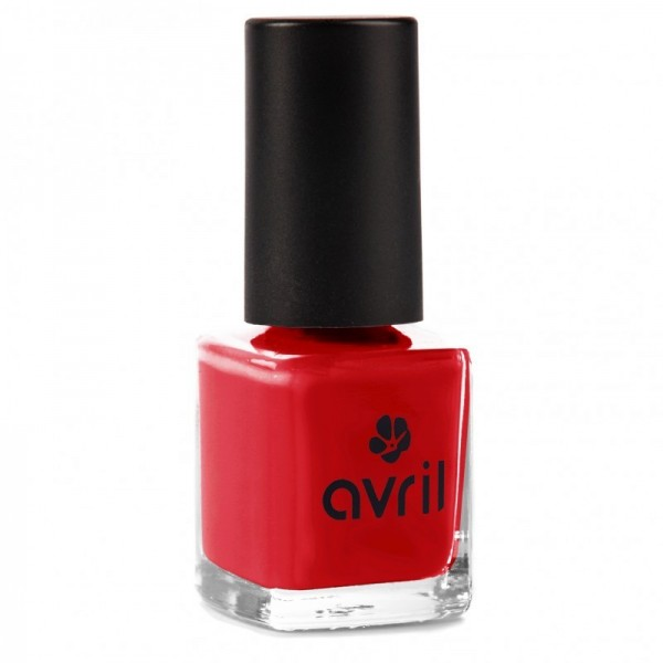 AVRIL Vernis à ongles VERMILLON 7ml