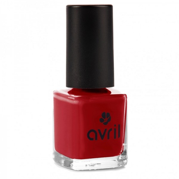 AVRIL Vernis à ongles ROUGE OPERA 7ml