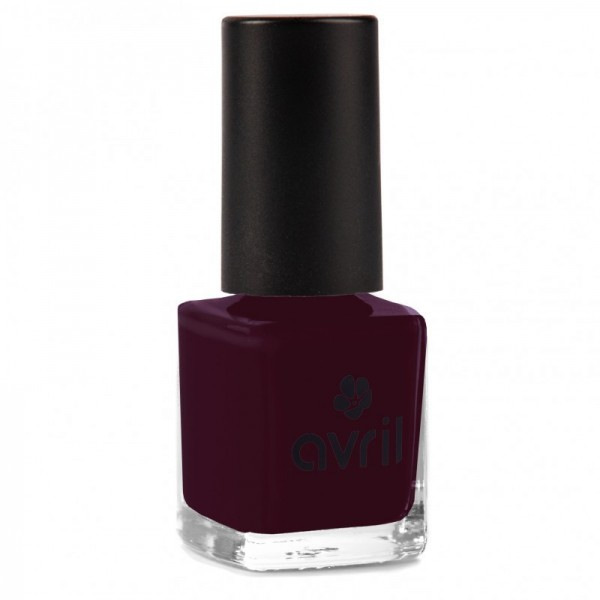 AVRIL Vernis à ongles PRUNE 7ml