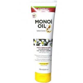 ORS Co-wash anti-casse MONOI OIL 296ml (Nourishing Co-wash Crème)