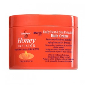 STRONG ENDS Crème capillaire protection thermique 170g (Daily Heat & Sun Protection Hair Crème)