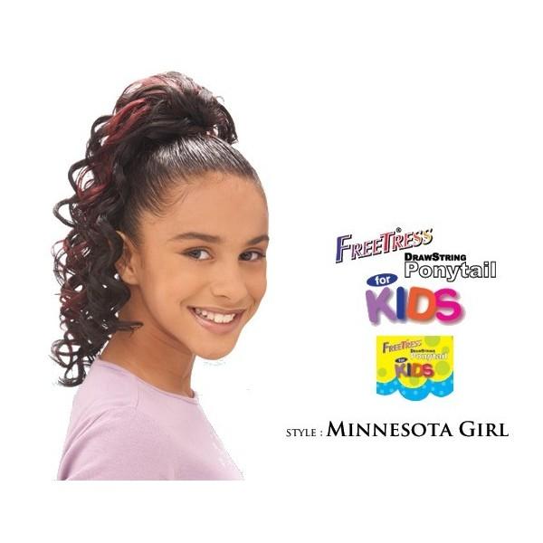 "Children's hairpiece ""MINNESOTA GIRL"""