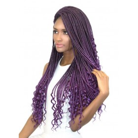 "URBAN BEAUTY natte 2x REAL GODDESS LOCS 24"" (Loop)"