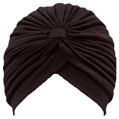 Bonnet turban soyeux