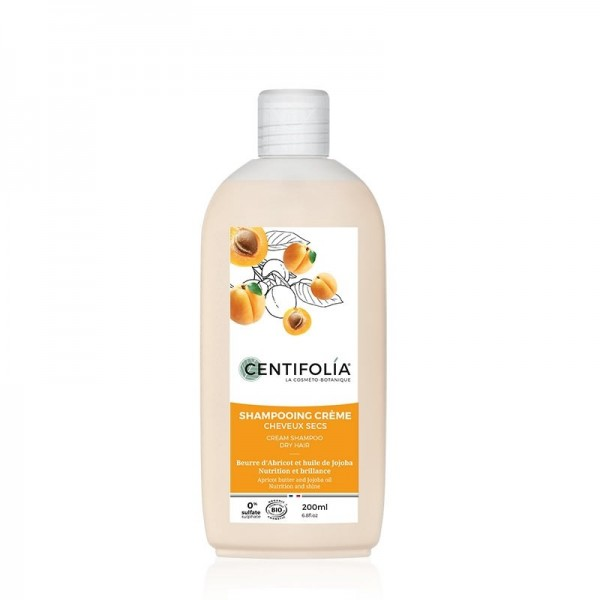 CENTIFOLIA Shampoing doux cheveux secs BIO 200ml