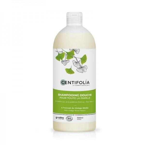 CENTIFOLIA Shampooing douche 2-en-1 500ml