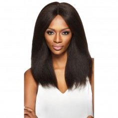 "OUTRE perruque Brazilian Natural BLOW OUT STRAIGHT (Simply Swiss Lace 4""x4"") *"