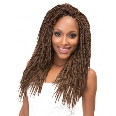"JANET natte 8x MAMBO TANTALIZING TWIST BRAID 12"",14"",16"",18"" (Loop)"