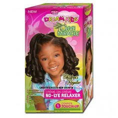 Relaxer Kit Normal Touch Up OLIVE MIRACLE KIDS