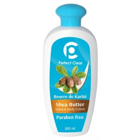 PERFECT CLEAR Lotion mains & corps BEURRE DE KARITÉ 500ml