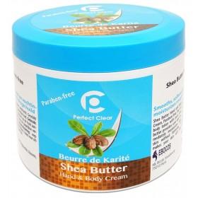 PERFECT CLEAR Crème corps & mains BEURRE DE KARITÉ 500ml