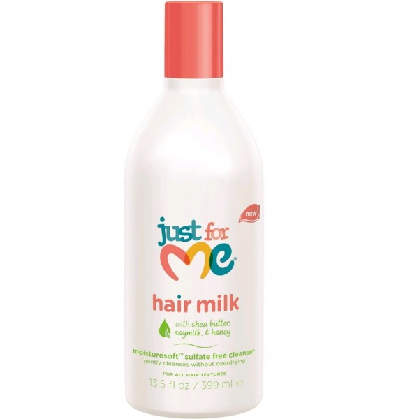 JUST FOR ME Shampooing doux pour enfants (Cleanser Hair Milk) 399ml